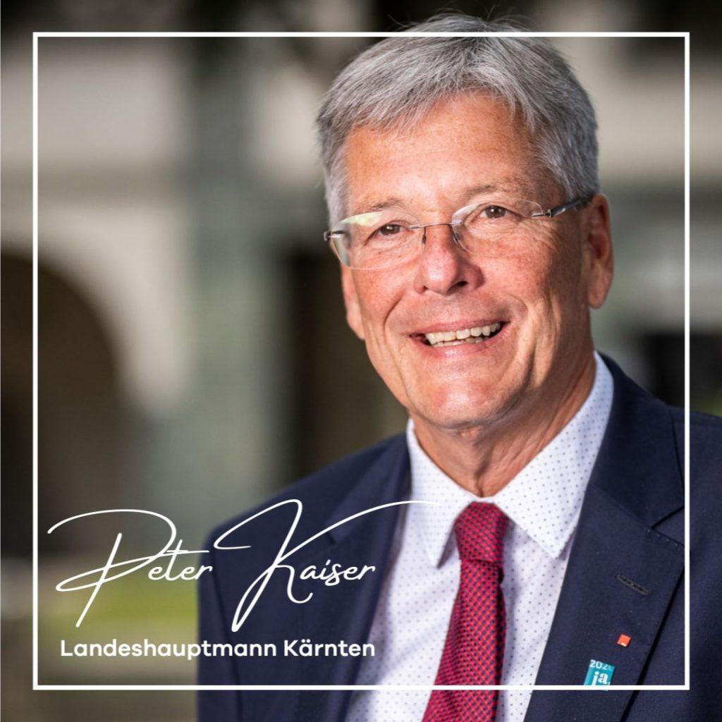 Peter-Kaiser-Landeshauptmann-Kärnten